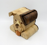 Pitbull bandsaw box by Taya