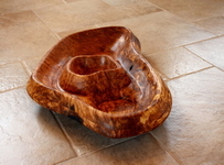 Scrollsaw bowl by Taya